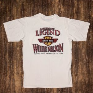 Vintage 1990 Willie Nelson Born From Trouble